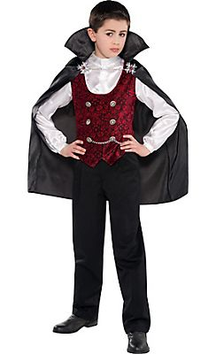 Boys Dark V&ire Costume  sc 1 st  Pinterest : vampire costumes for boys  - Germanpascual.Com