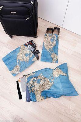 Maps kikkerland travel laundry bag around the world bag set 4 pc maps kikkerland travel laundry bag around the world bag set 4 pc set gumiabroncs Choice Image