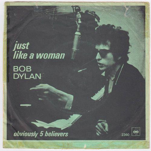 Bob Dylan Just Like A Woman Mega Rare Denmark Norway Norwegian