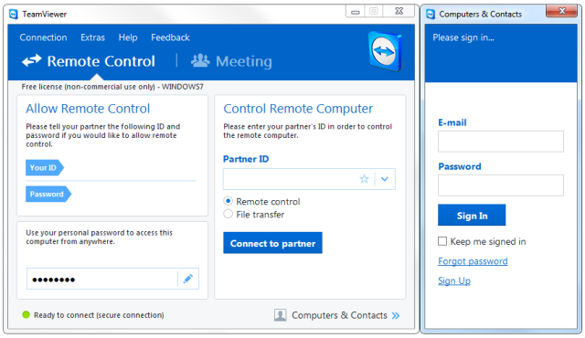 14 Free Programs For Remotely Accessing Your Pc Remote Control Software Remote Powerful Computer