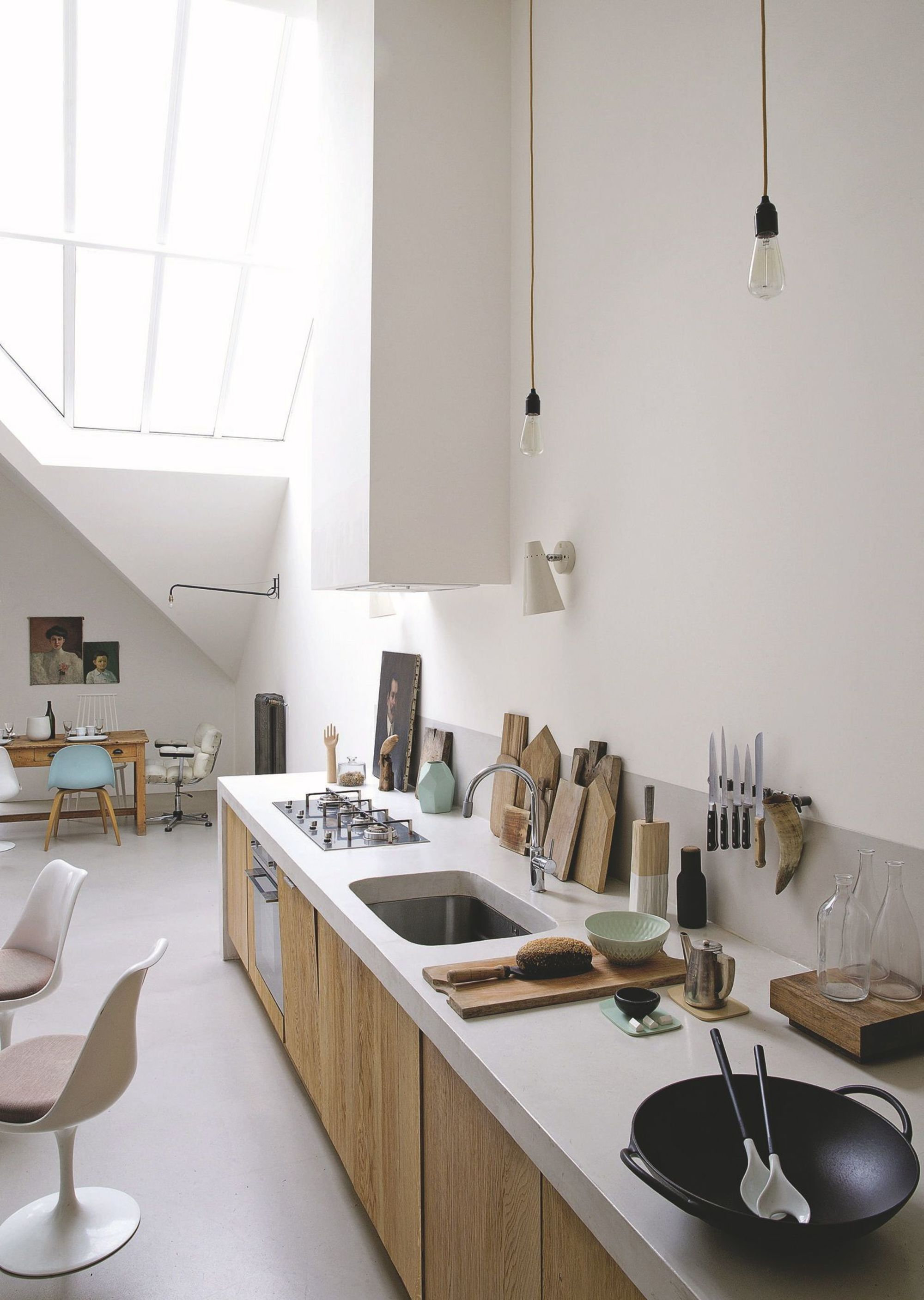 Beautiful Loft Interior Design House Of Annabel Gueret   Loft ...