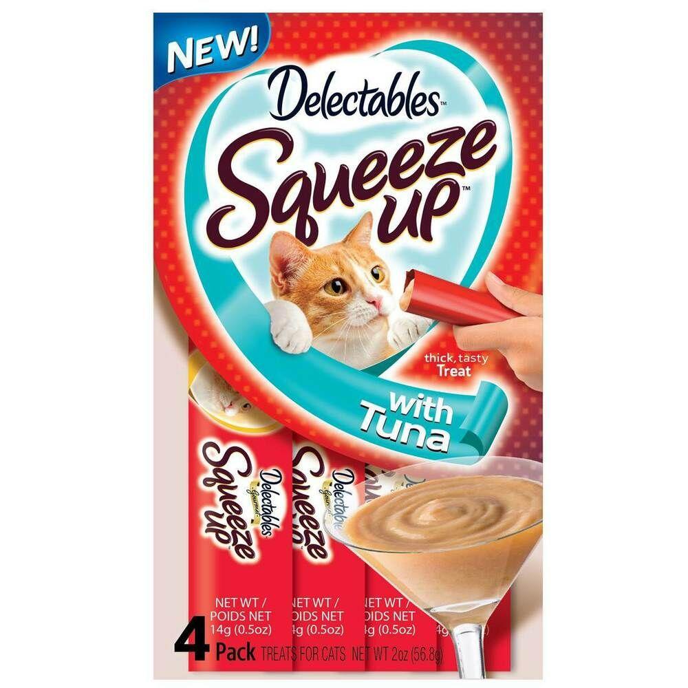 Hartz Delectables Squeeze Up Cat Treat J21 Tuna cat
