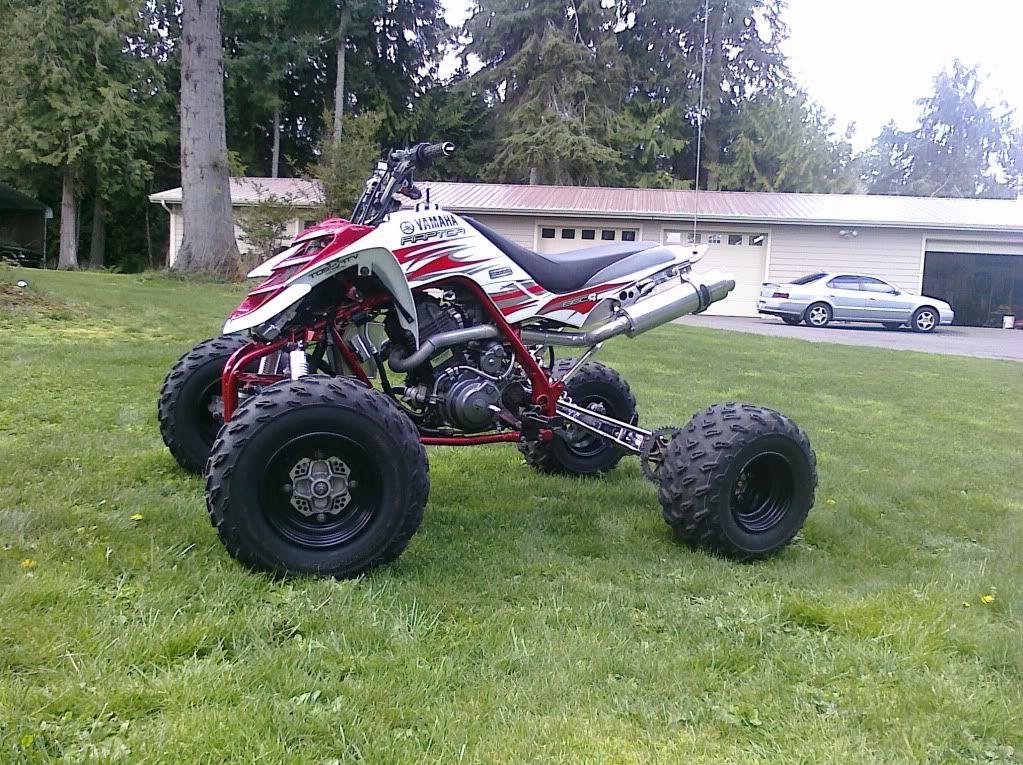 Yamaha Raptor 660 Custom Picture HD | 4 wheelers | Dirtbikes