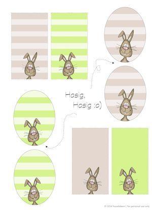 oster hasen tags freebie zum ausdrucken etiketten pinterest. Black Bedroom Furniture Sets. Home Design Ideas