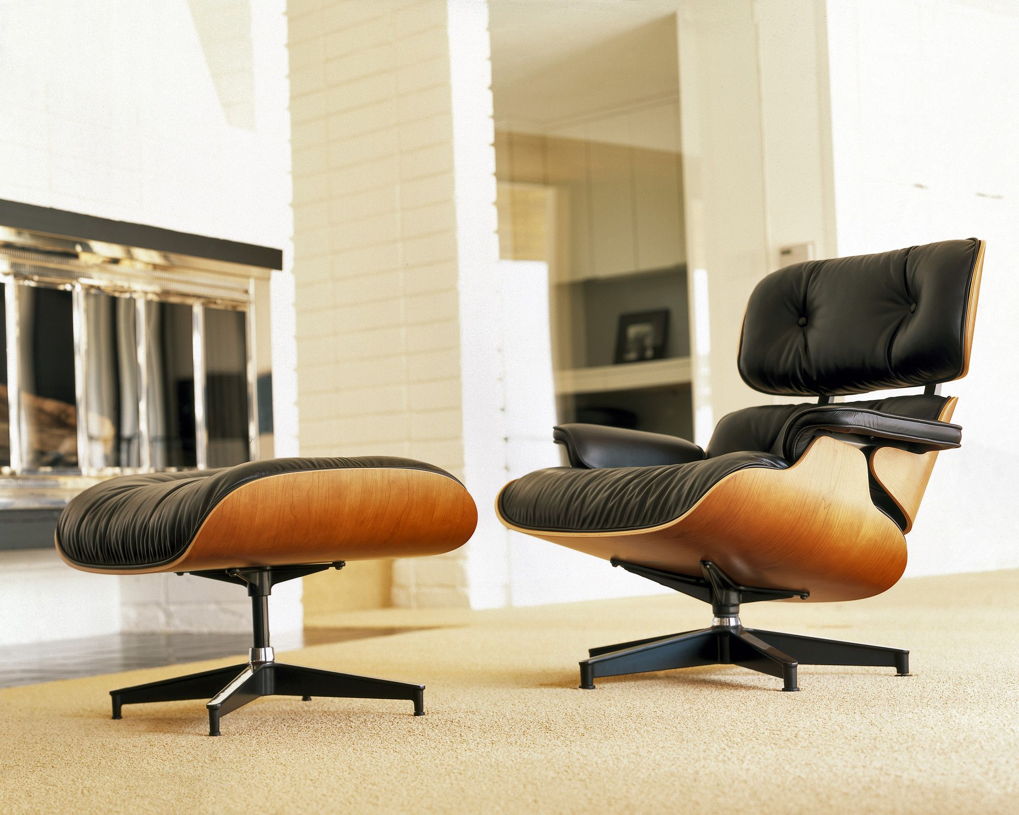Herman miller eames lounge chair and ottoman words cannot express how much i love this chair and ottoman