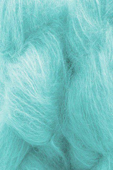 Mohair Yarn in Aqua AquaLove in 2019 Cosas azules