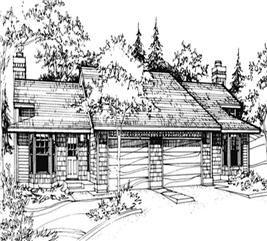 Best Multi Unit House Plan 119 1185 2 Bedrm 1021 Sq Ft Per 400 x 300