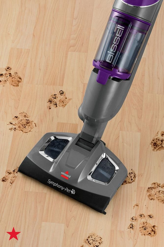 Have Pets This All In One Vacuum And Steam Mop From Bissell Is A Registry Must Cleaning Up After Cats And Dogs Will Be A B Steam Mop Vacuums Cleaning Gadgets