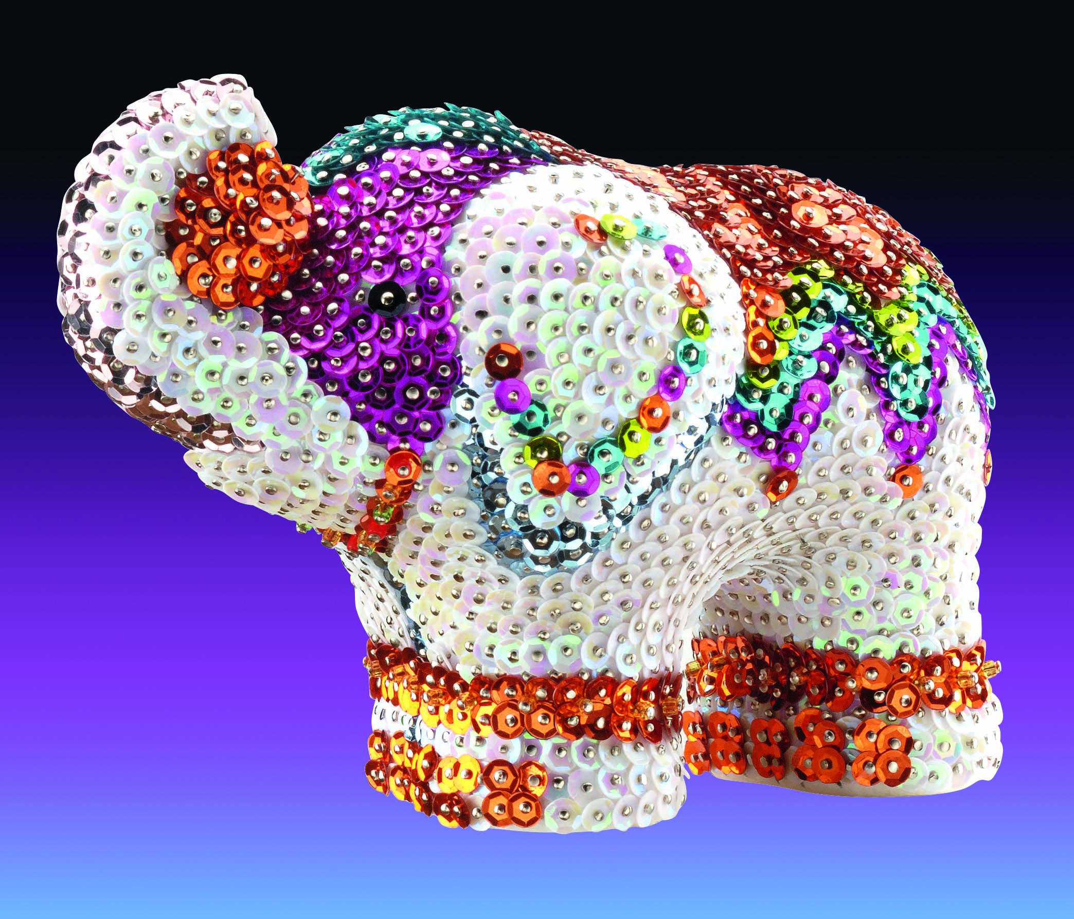 craft kits styrofoam animal and sequins an array of