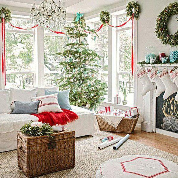 Weihnachtsdeko Wohnzimmer.35 Bastelideen Für Fenster Weihnachtsdeko Merry Christmas