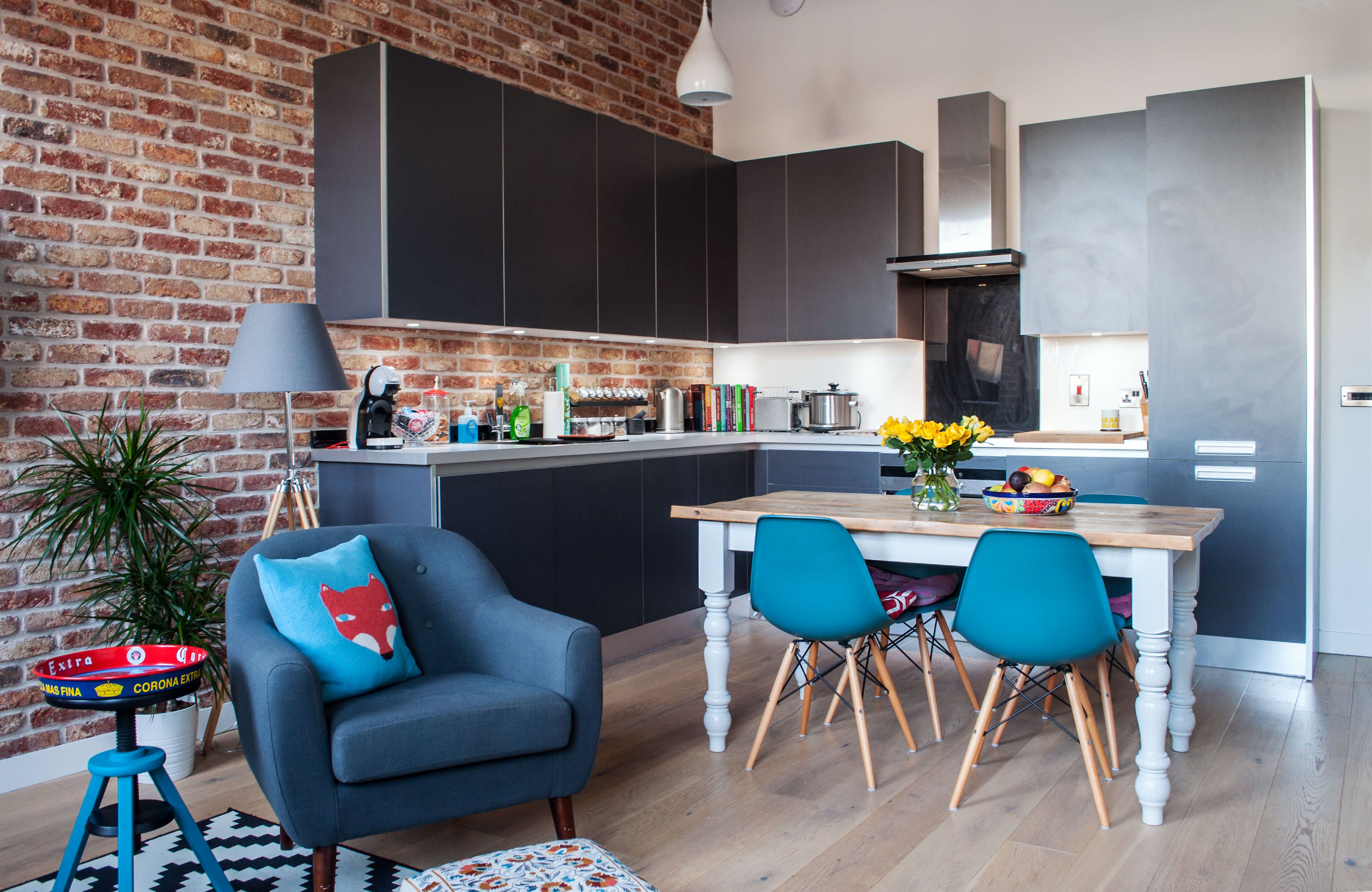 a fun scottish apartment in a former high school with