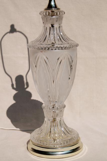 Vintage Crystal Clear European Lead Crystal Brilliant Cut Glass