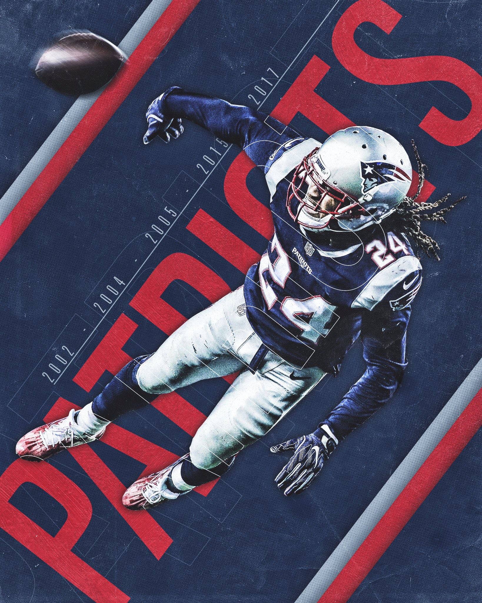 New England Patriots Sports Graphic Design Sport Poster Design Sports Design Inspiration