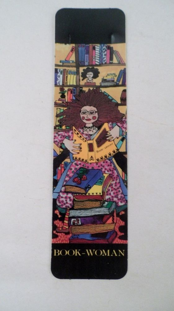 NOS Tab Marks Antioch Publishing Artist Kiki Book Woman Bookmark ...