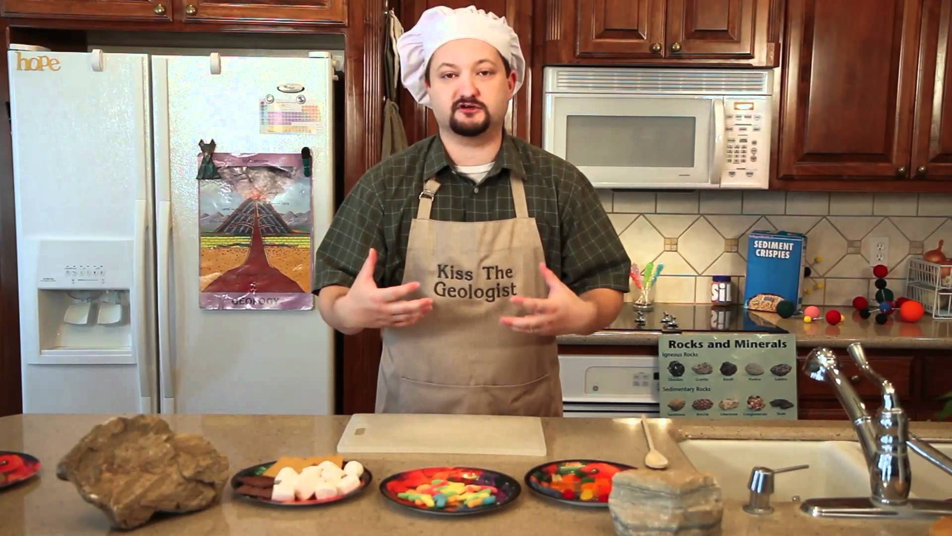 Geologist Devin Dennie Heads To The Kitchen To Demonstrate The Differences Between The Three
