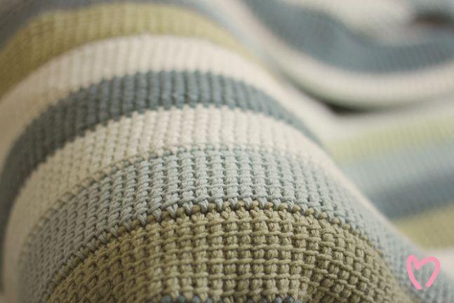 Tunisian Crochet Blanket Crochet Tunisian Crochet Blanket
