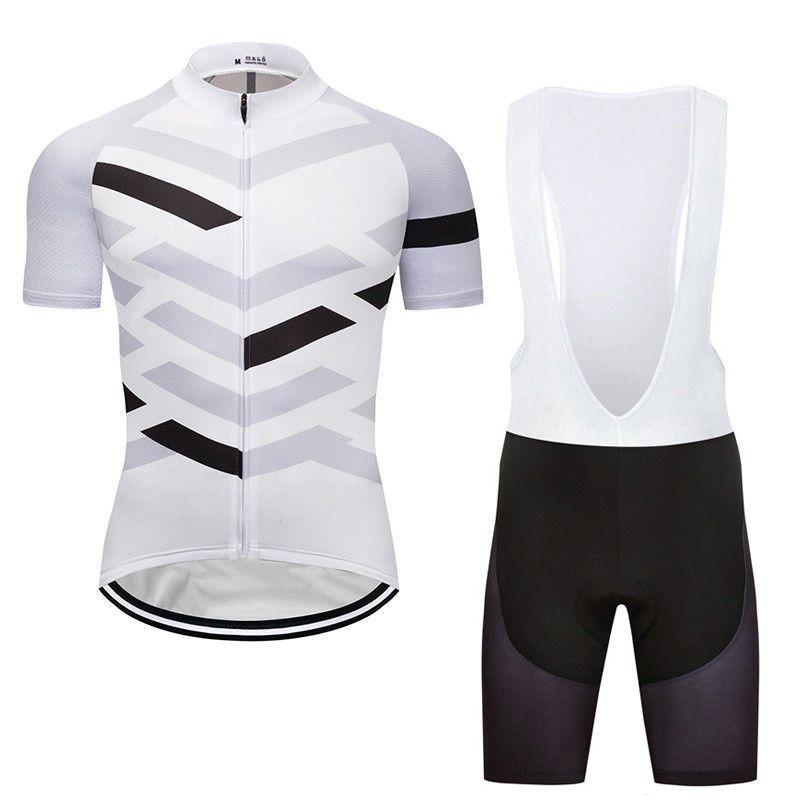2018 Race Men s Cycling Jersey Bib Shorts Set Pad Bike Simple Style Short  Sleeve  Rainsports a9cf51952