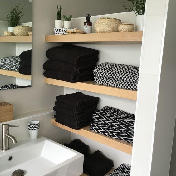22x opbergen in de badkamer | Badkamer | Pinterest | Bathroom ...