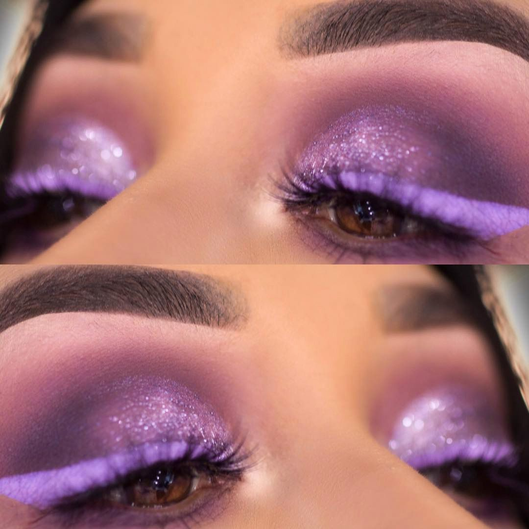 Always add glitter #glittereyeliner