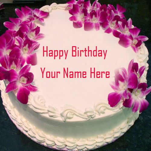 Happy Birthday Cake with Name Images and Pictures – Happy Birthday Card Editor