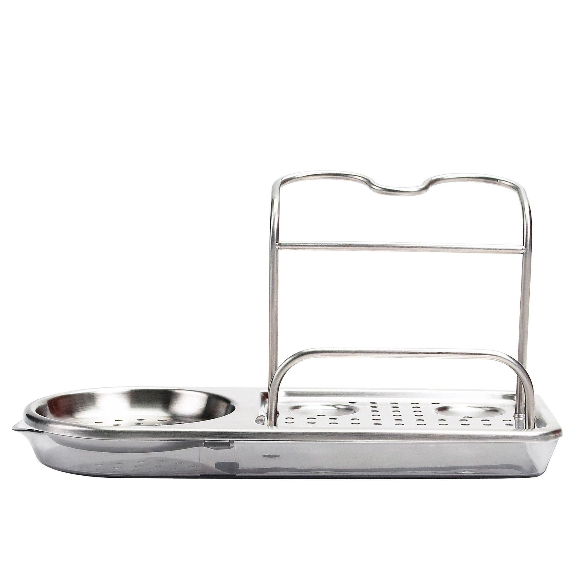 Oxo Softworks Stainless Steel Sink Organizer Silver In