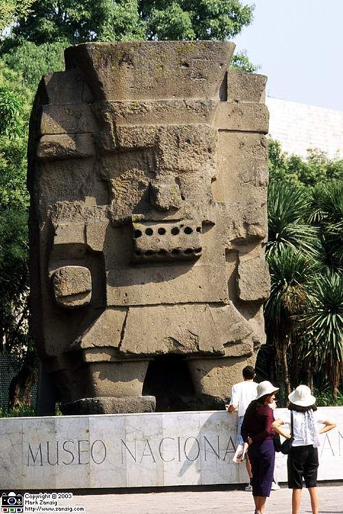 Anthropology Museum Mexico City, Mexico. Busy City And