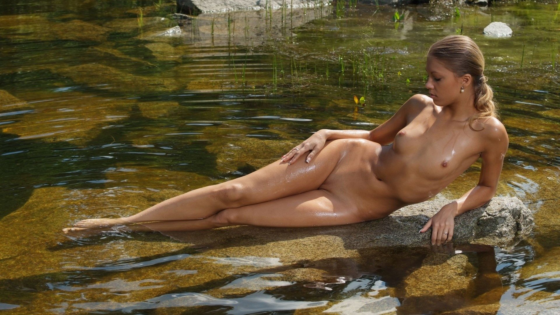 Nude In Water 69