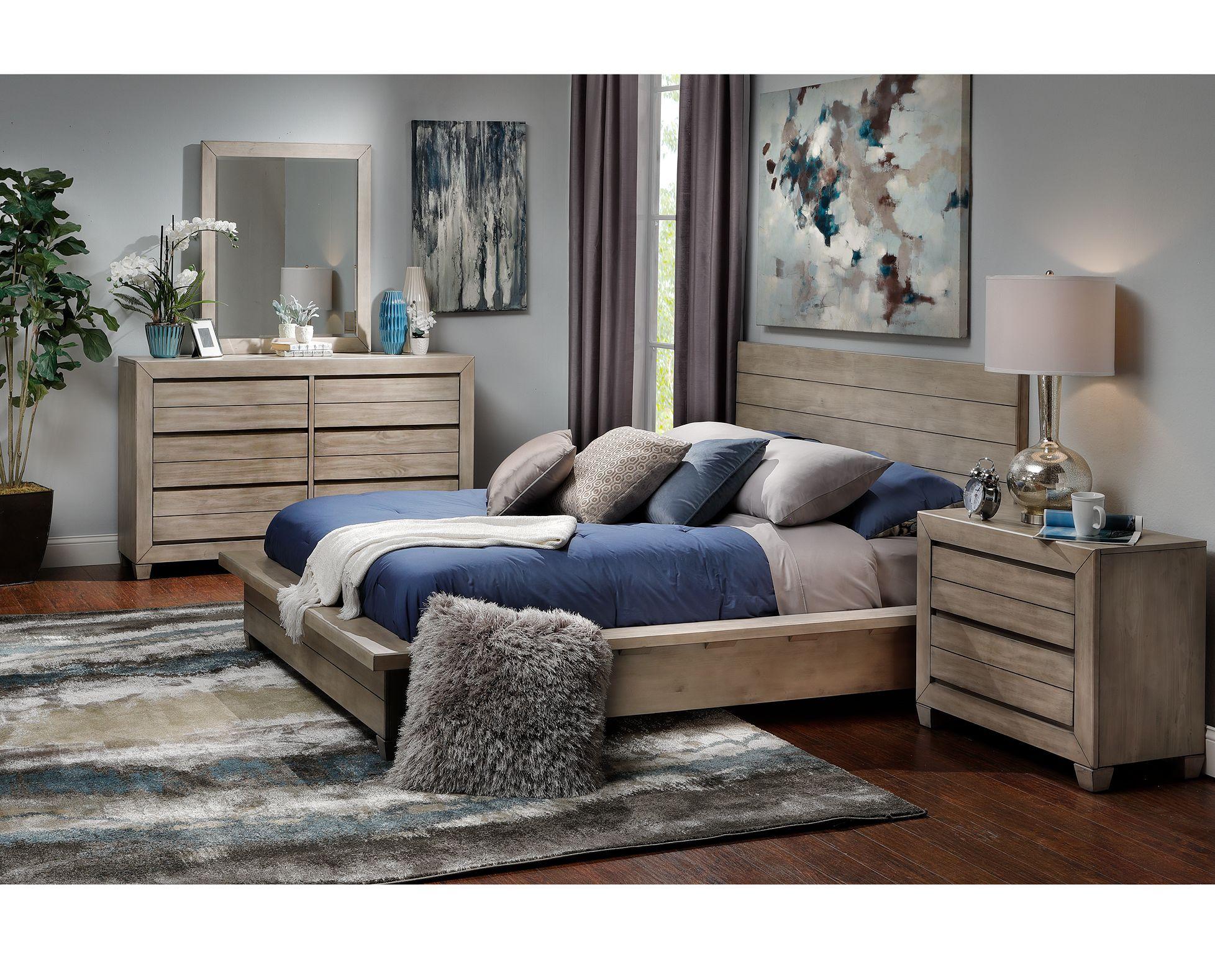 Portland Bedroom Set - Furniture Row  Rowe furniture, Furniture