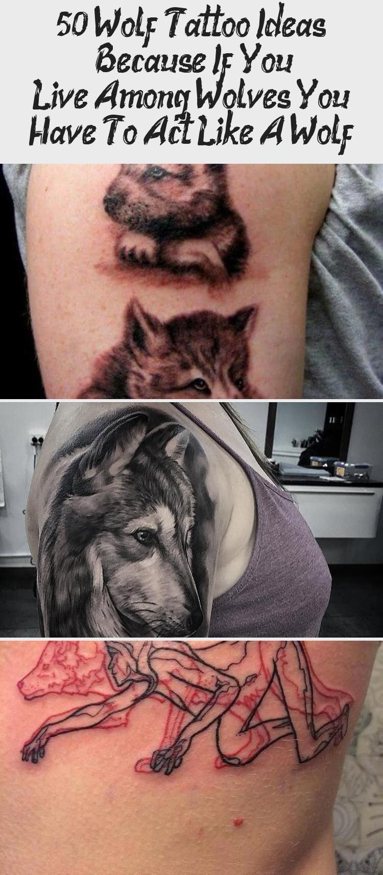 50 Wolf Tattoo Ideas  Because If You Live Among Wolves You Have To Act Like A Wolf  Tattoos  50 Wolf Tattoo Ideas  Because If You Live Among Wolves You Have To Act Like A...