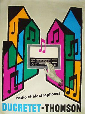 Ducretet-Thomson Radio et Electrophones by Guy Georget (1960)