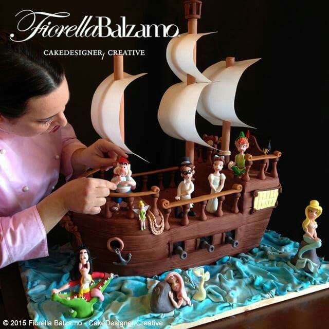This cake is mind blowing. Galeone