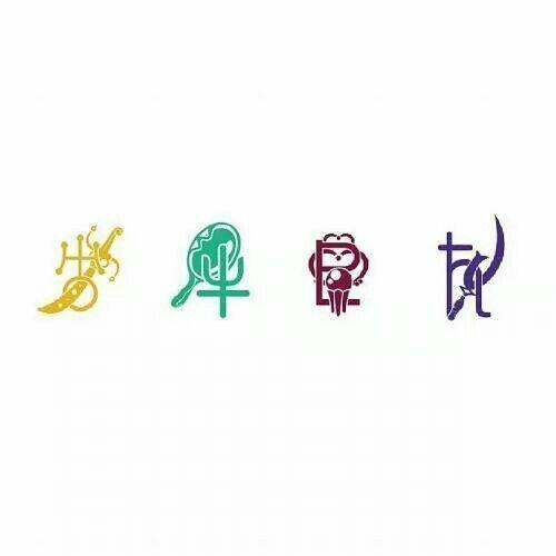 Outer Senshi Symbols Sailor Moon Pinterest