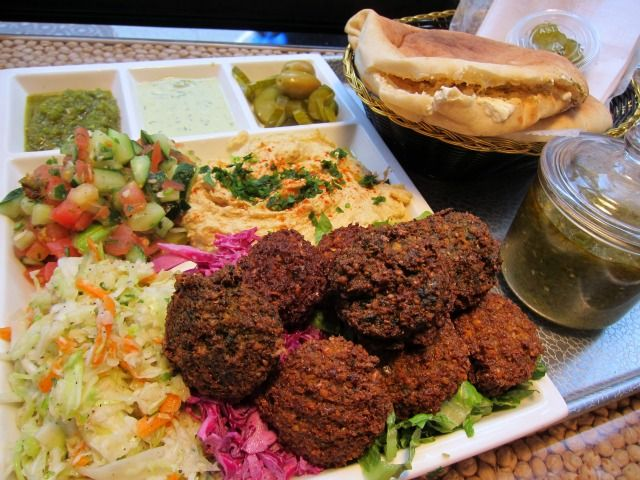 You know how sometimes you enter a restaurant for the first time, and even before you have a single bite of anything you already feel good about your decision? That's Nish Nush.   Not only do they have the best falafels in NYC, they have quality customer service and low prices! Does it get any better than that, New York?