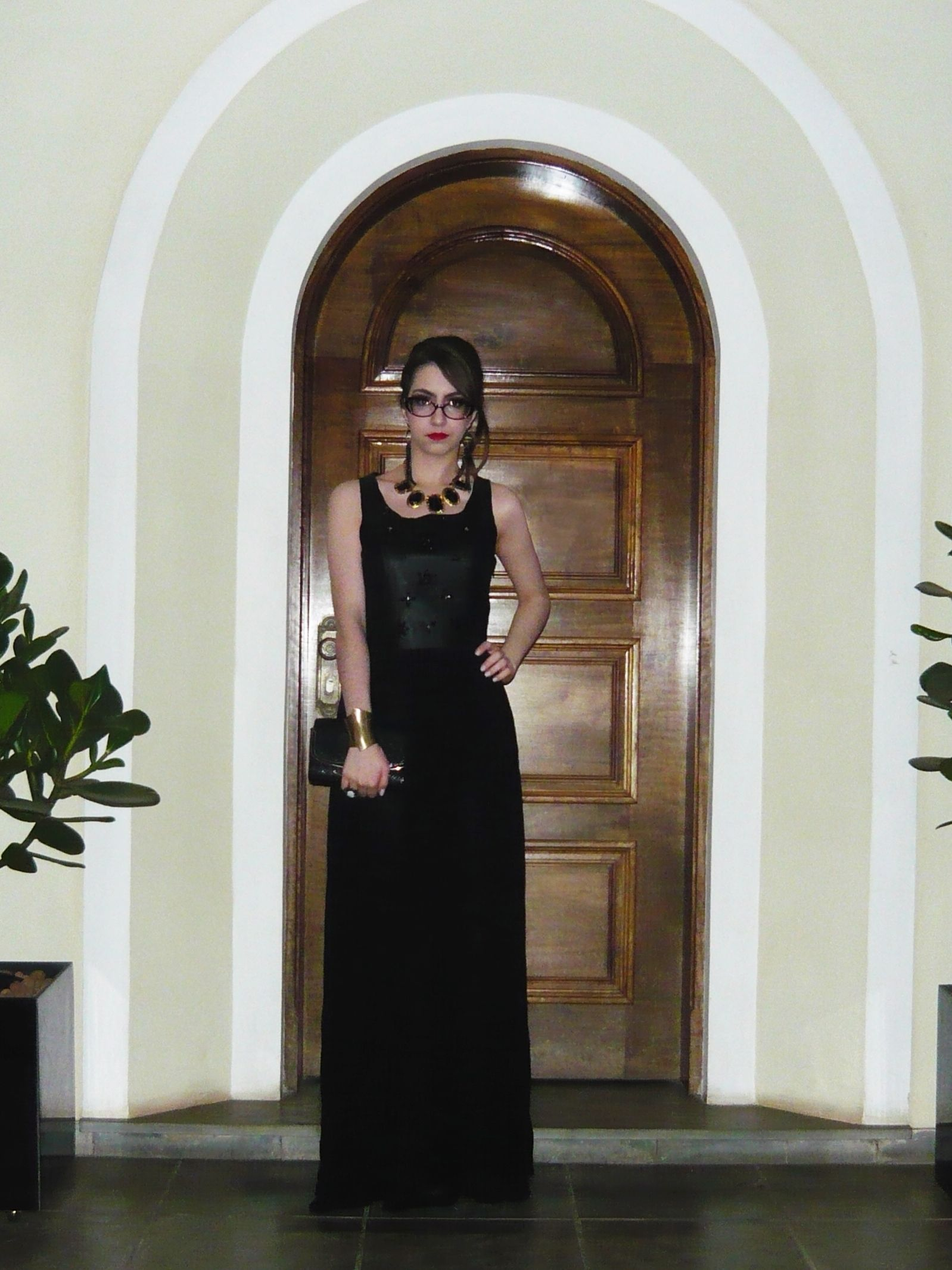 Look do dia: Vestido longo para festa