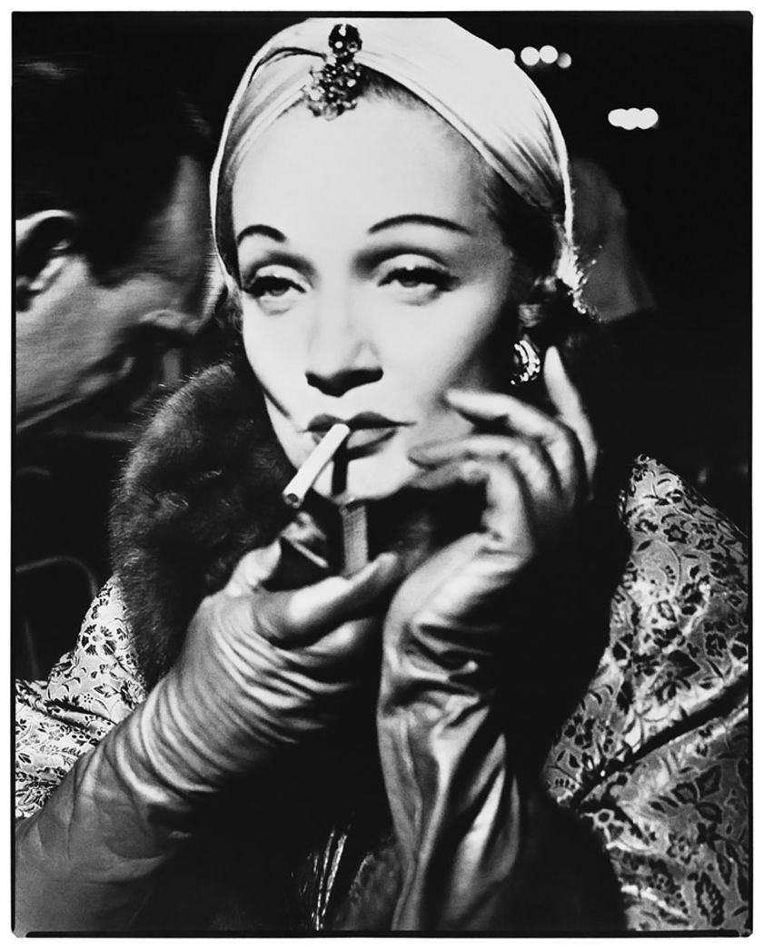 Richard Avedon Early Paris Fashion Marlene Dietrich Turban By