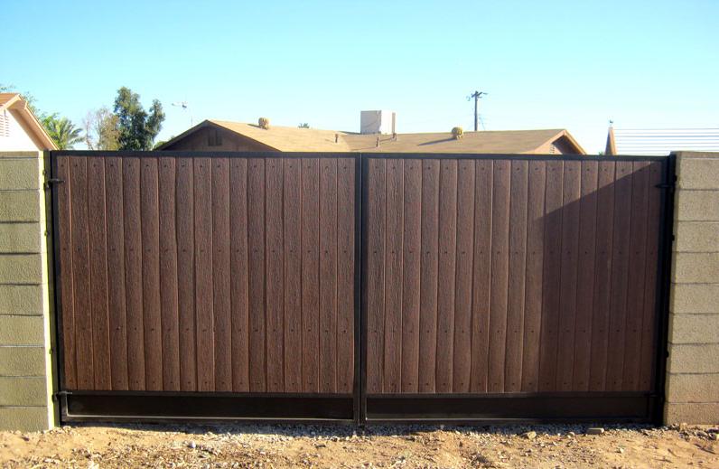 backyard rv gate