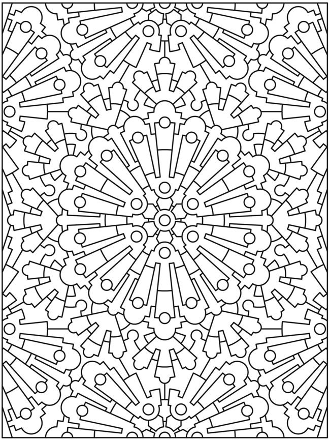 Creative Haven Mandala Madness Coloring Book