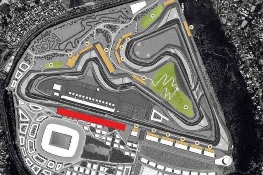 F1 Le tracé du circuit de Rio dévoilé Grand prix