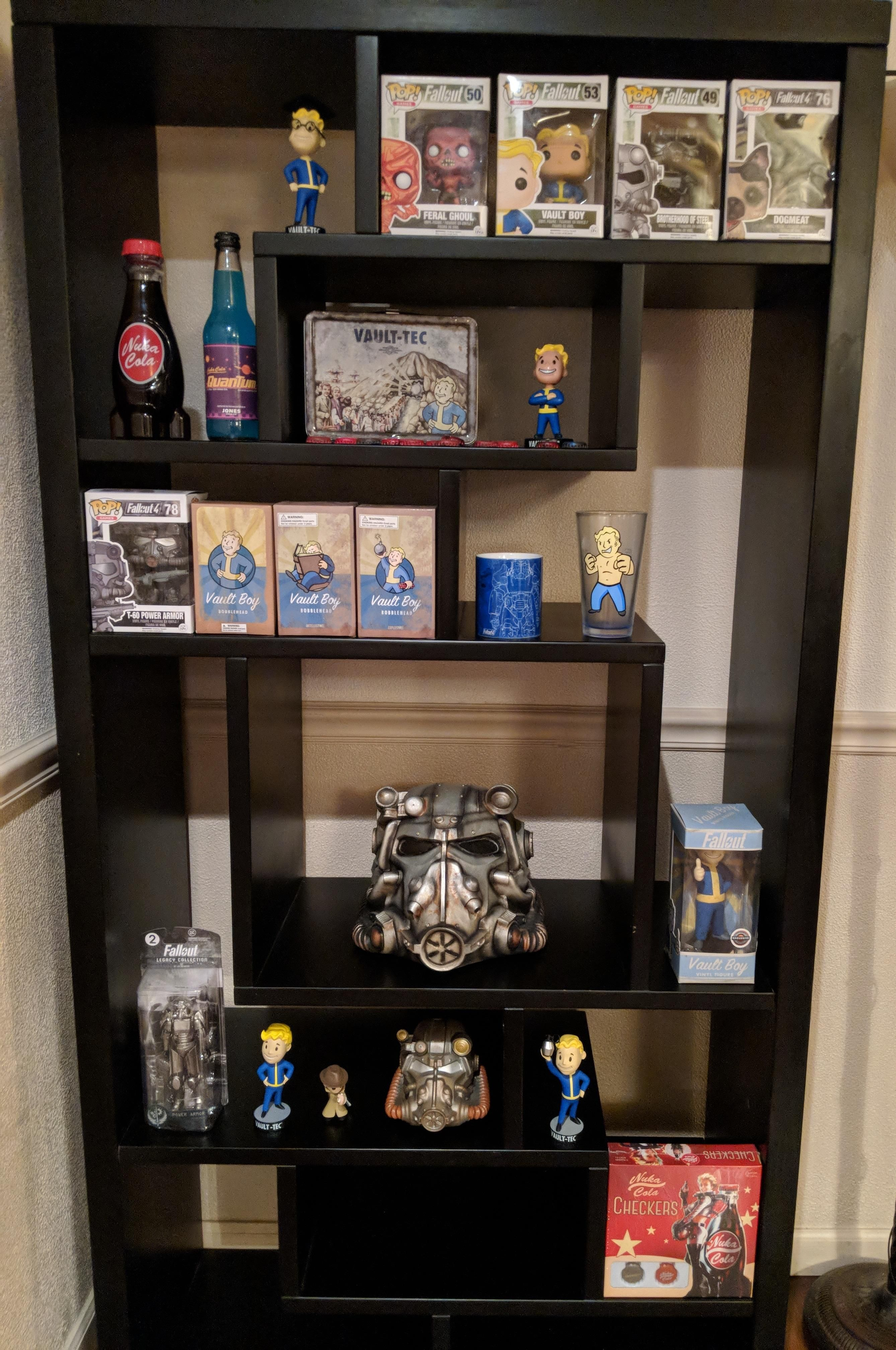 Just Finished My Display For My Fallout Collectibles Thought You