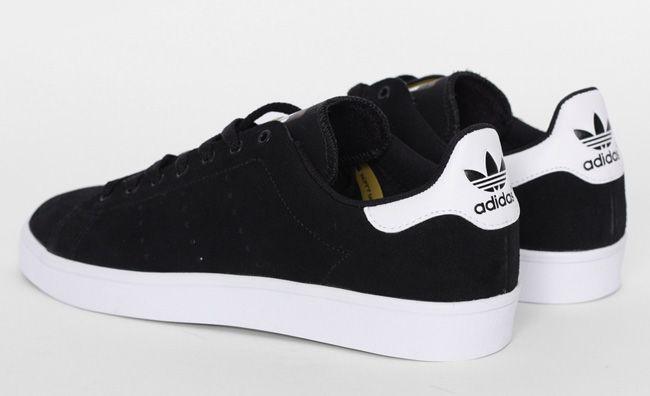 "reputable site 38f47 ca62e adidas Skateboarding Stan Smith Vulc ""Black   White"""