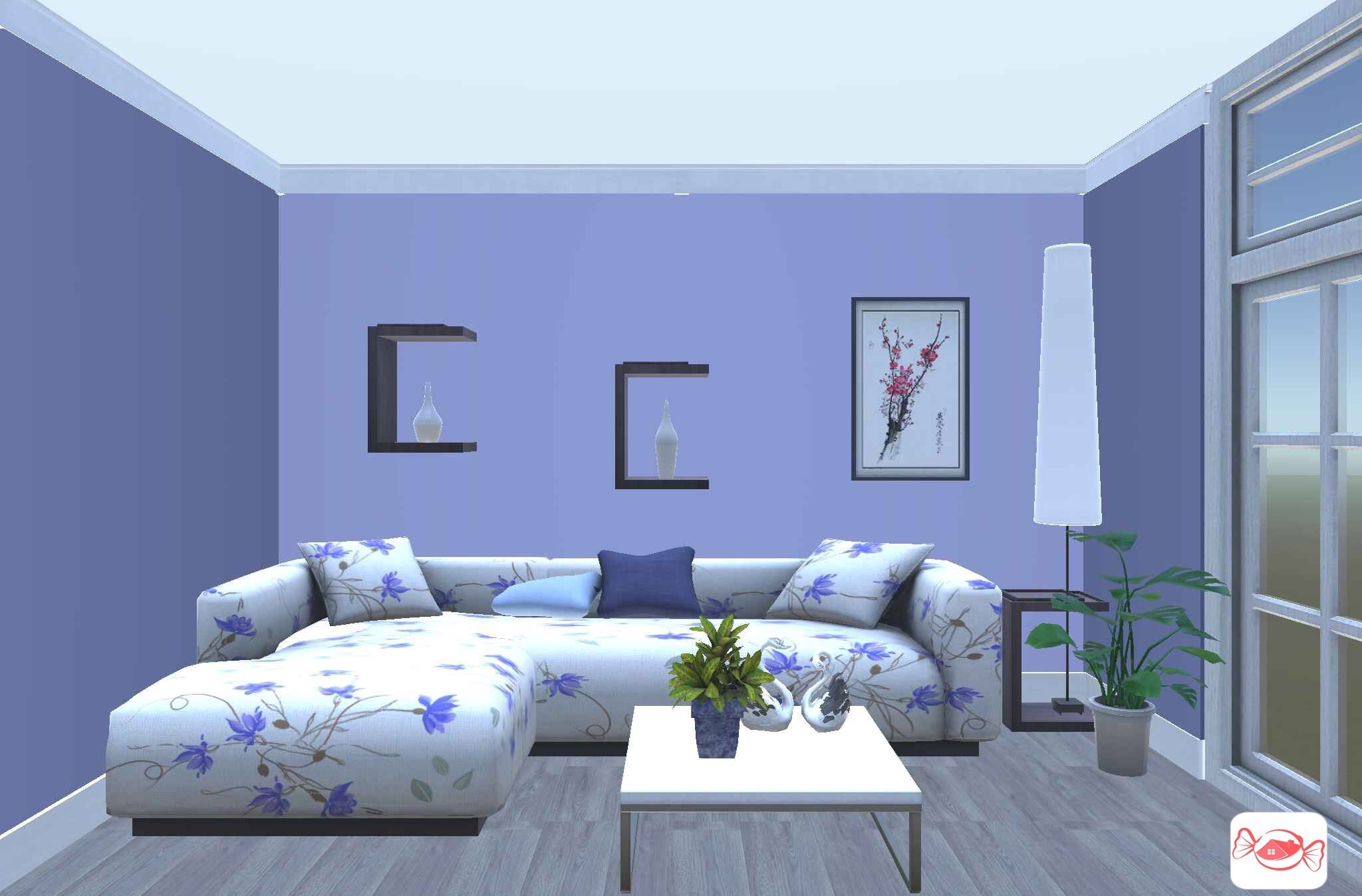 Simple Living Room Created With Home Sweet Home 3d App With