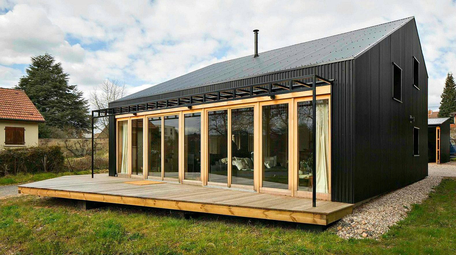 Studiolada Used All Wood Materials To Create This Affordable Open Source  Home Anyone Can Build
