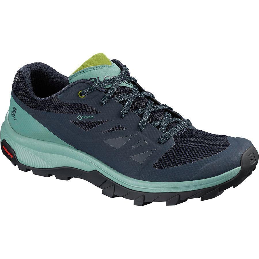 salomon outline low gtx hiking shoes - men's fashion