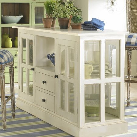 Make A Vintage Distressed Display Cabinet With Glass Panel Doors