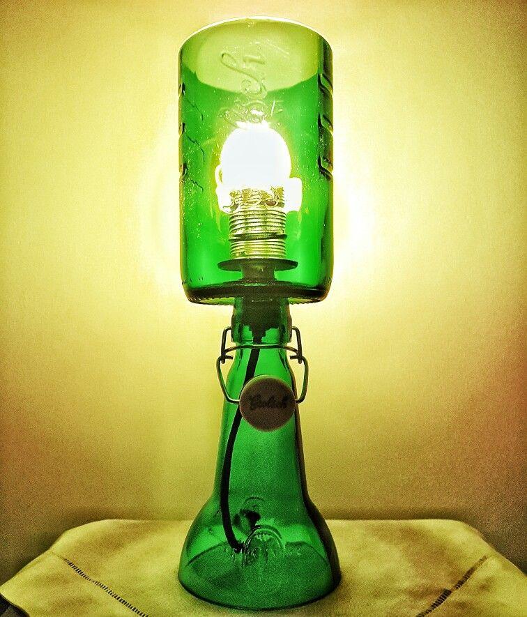 Led Garage Lights Sam S Club: Grolsch Beer Bottle Upcycled