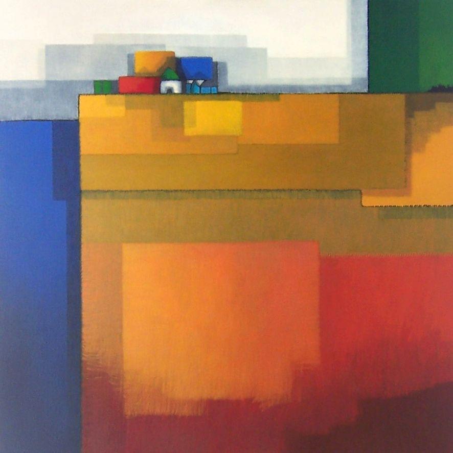 Nederlandse kunstenares Maria Megens
