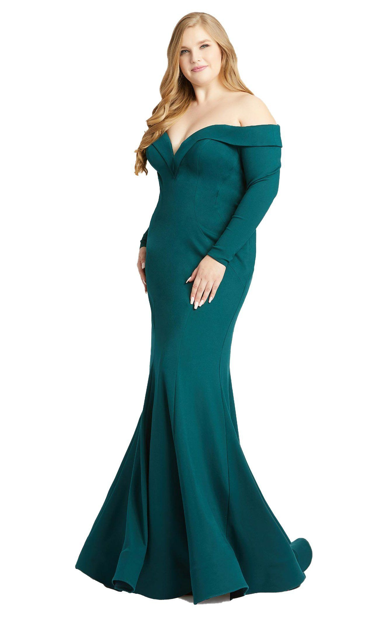 Mac Duggal Fabulouss 48893f Dress Long Sleeve Evening Gowns Gowns Perfect Prom Dress [ 2111 x 1312 Pixel ]