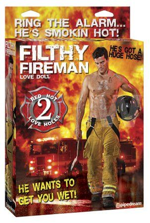 Pipedream Filthy Fireman Love Doll www.mskellys.com