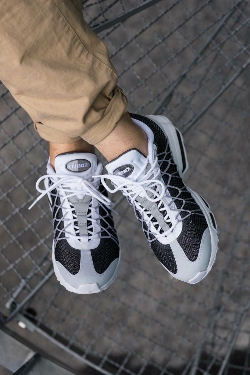 Nike Air Max 95 Ultra Jacquard: Black/White