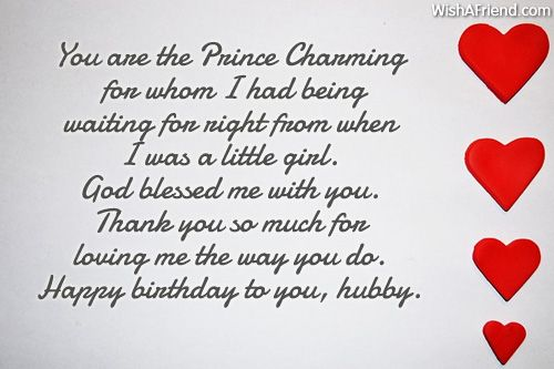 Birthday Wishes For Husband Birthday Message For Husband Happy
